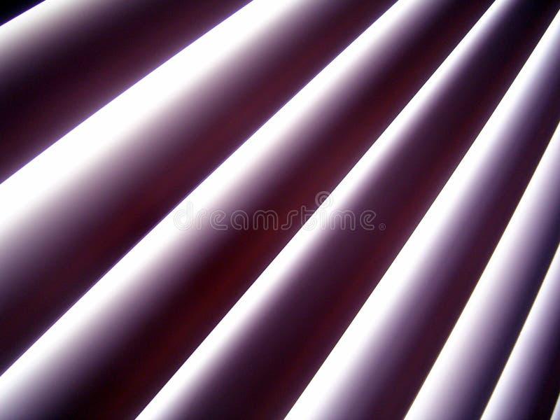 Window Blinds. Daylight seeping through window blinds vector illustration