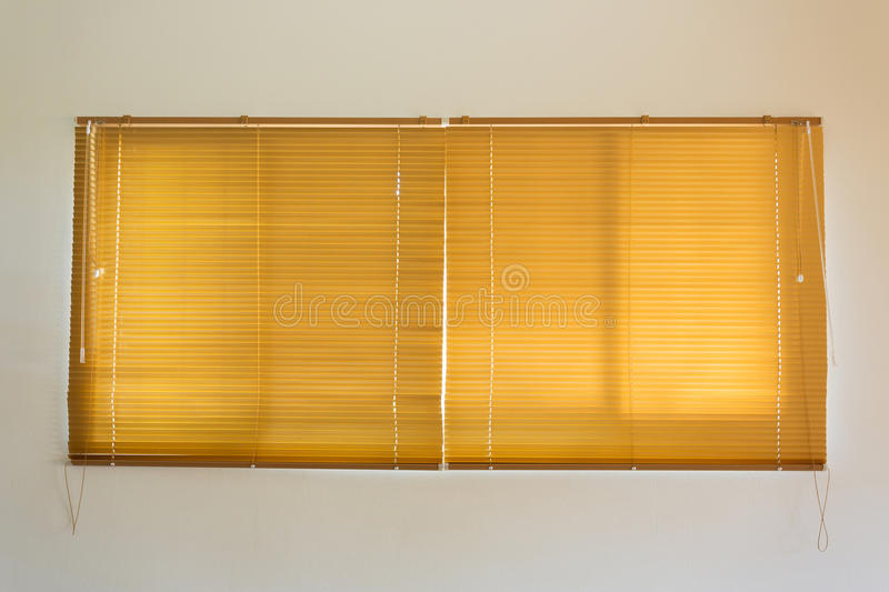 Window blinds interior. Window blinds decorated interior empty room royalty free stock photos