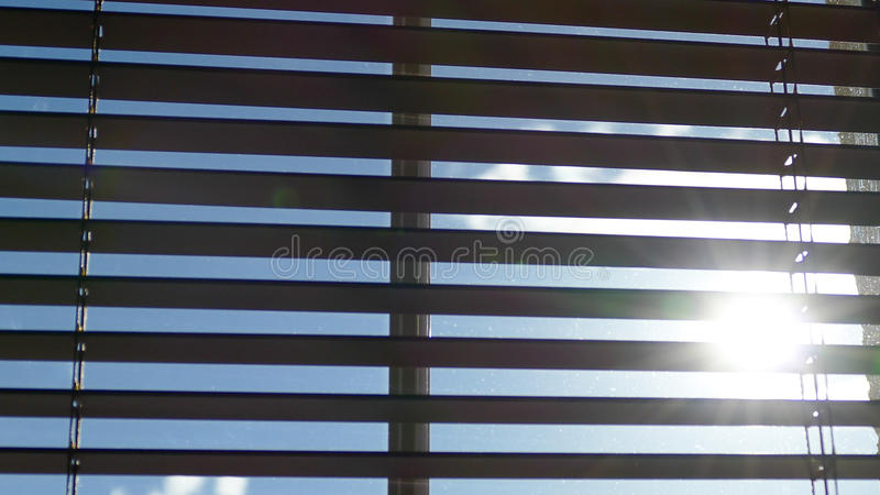 Window blinds royalty free stock photos