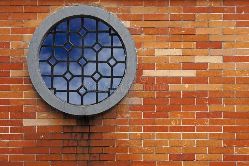 Window On Brick Wall Stock Photo