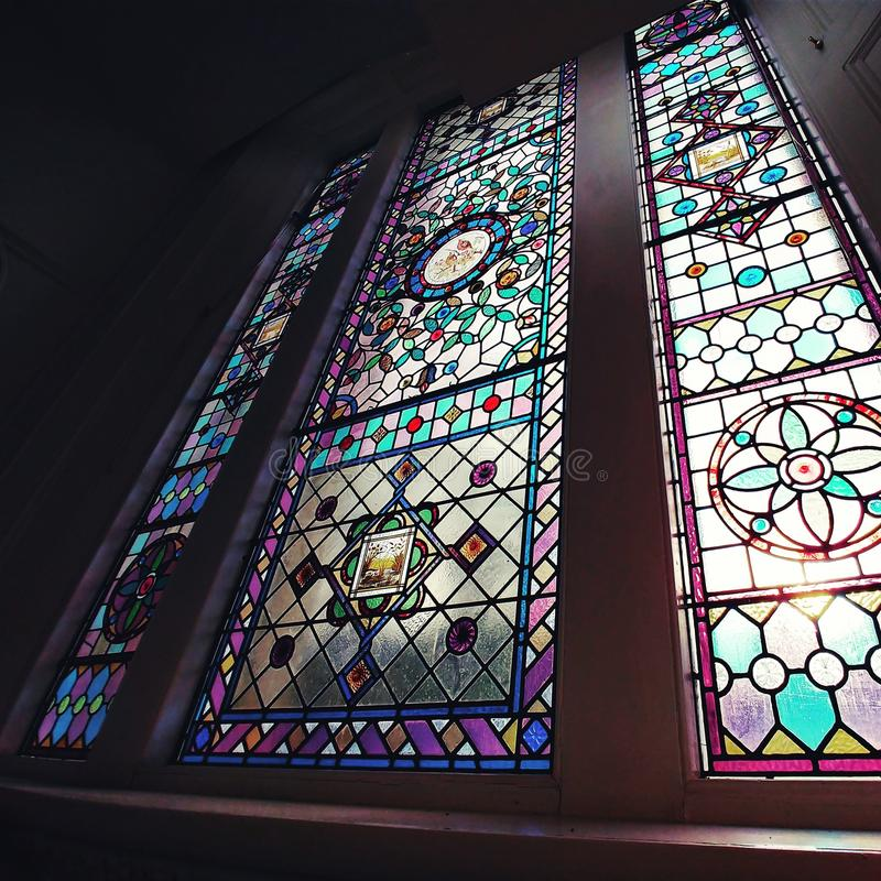 Holy window royalty free stock images