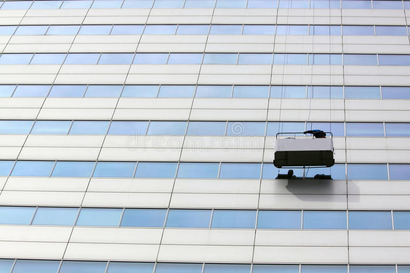 Download Window Cleaning Service At Work High Altitude Stock Image - Image: 19833045