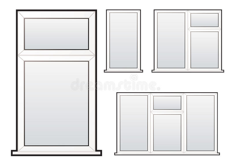 Window collection vector illustration