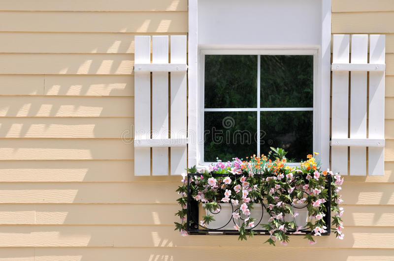 Download Window On Colored Architecture Stock Photo - Image: 20755202