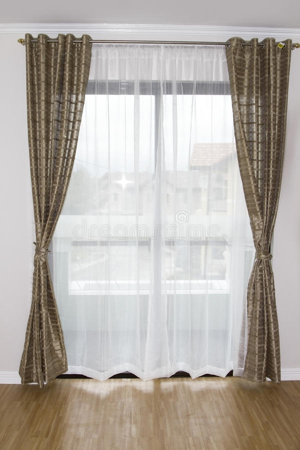 Window curtain stock images