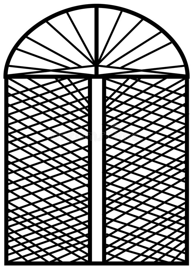 Window design royalty free stock image