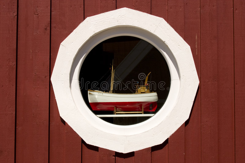 Window detail, Sweden royalty free stock image