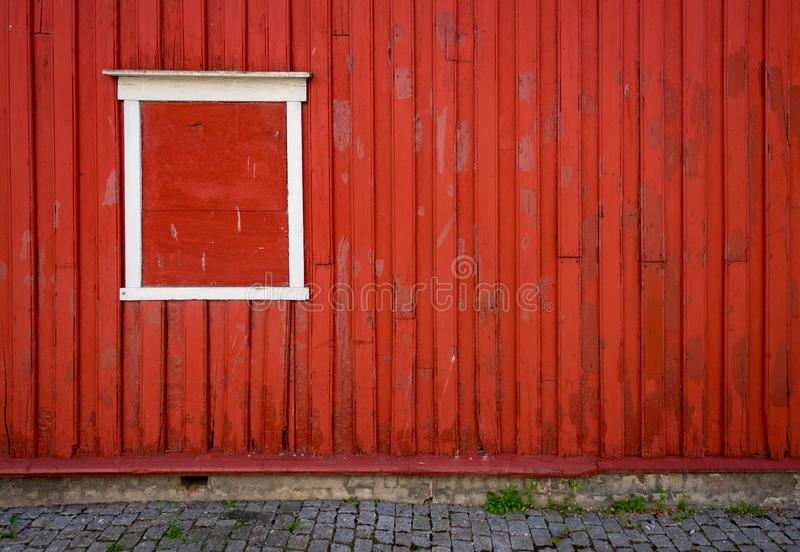 Traditional house in Norway, Europe stock images