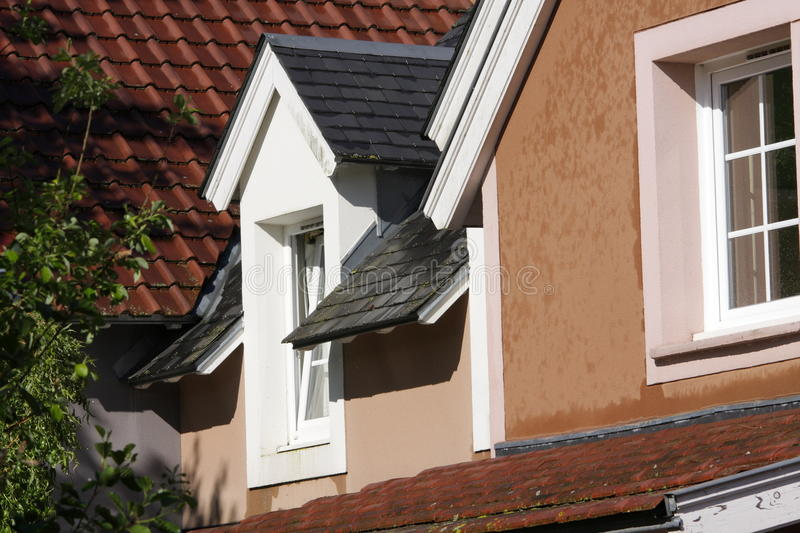 Window with double glazing. In France stock photo