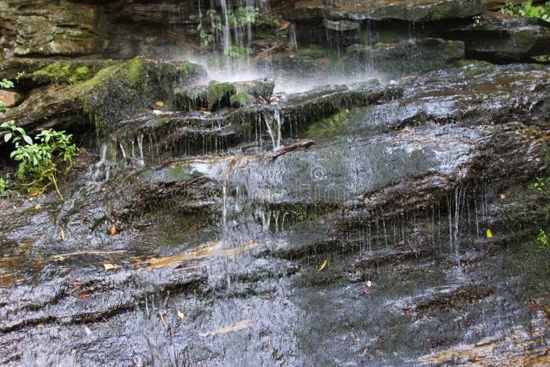 Window Falls at Hanging Rock royalty free stock images