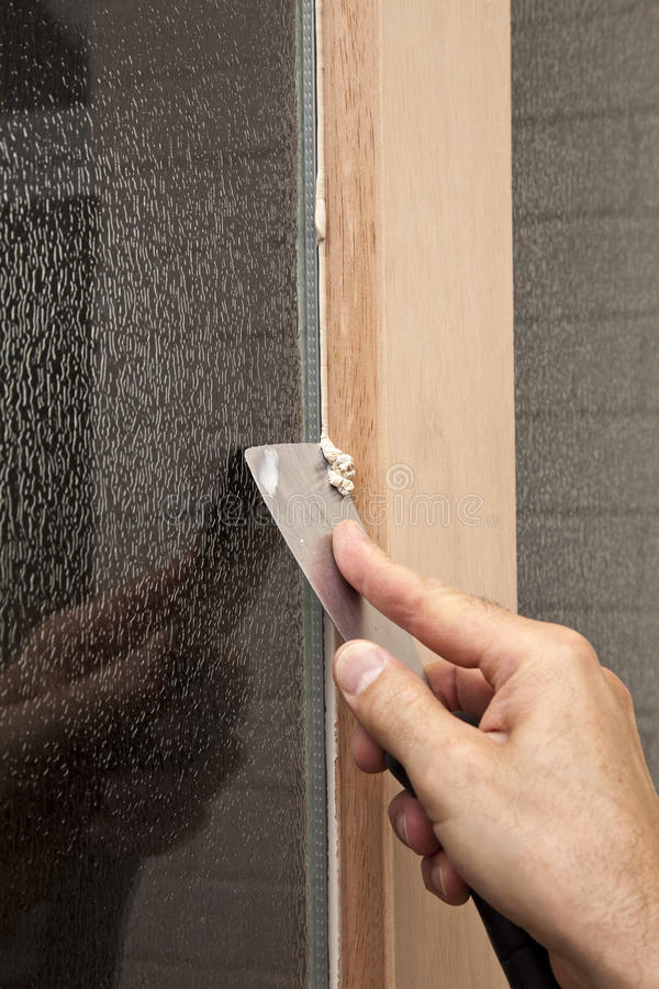 Download Window Fitting stock image. Image of work, installing - 19837189