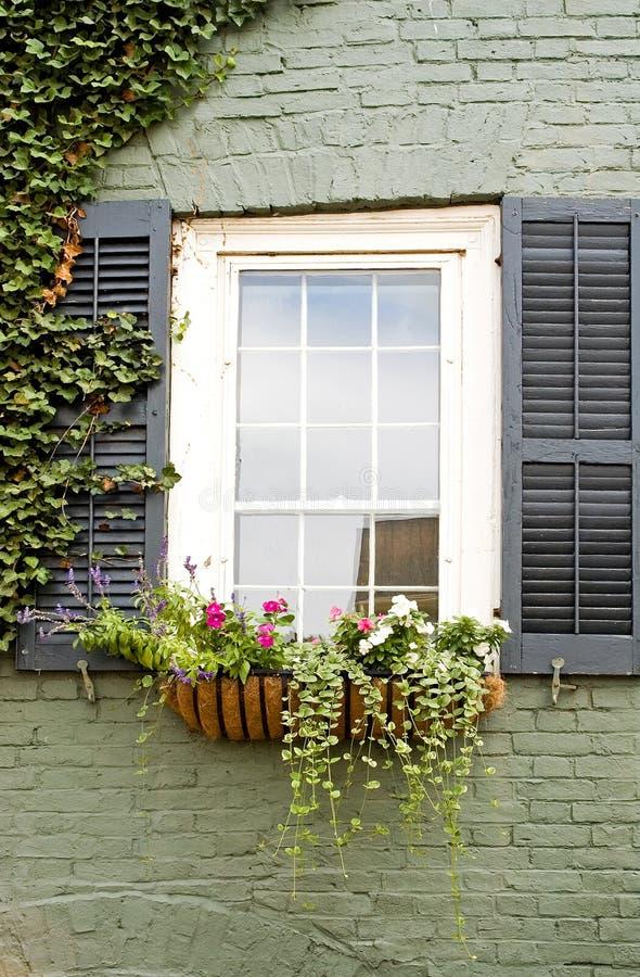 Download Window Flower Box Stock Photo - Image: 1194400