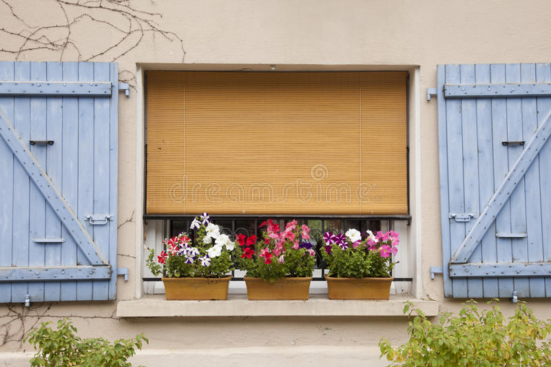 Download Window and flowers stock photo. Image of house, brown - 26828218