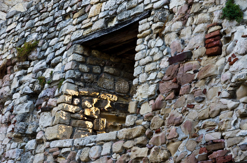 Download Window On The Fortress Tower Royalty Free Stock Image - Image: 27223596