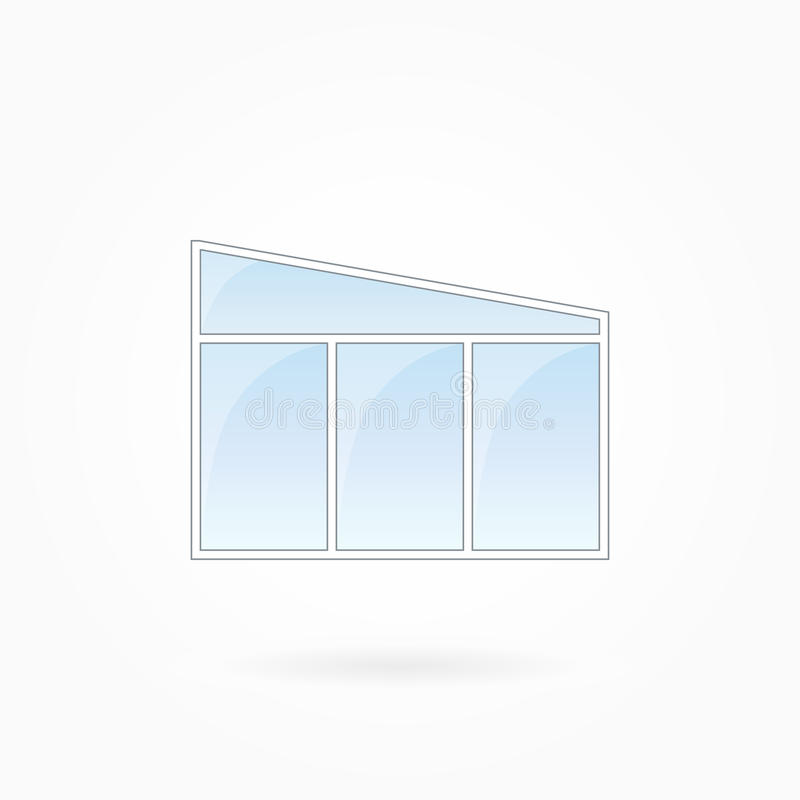 Window Frame Vector Illustration, Eps 10 Stock Vector - Illustration ...