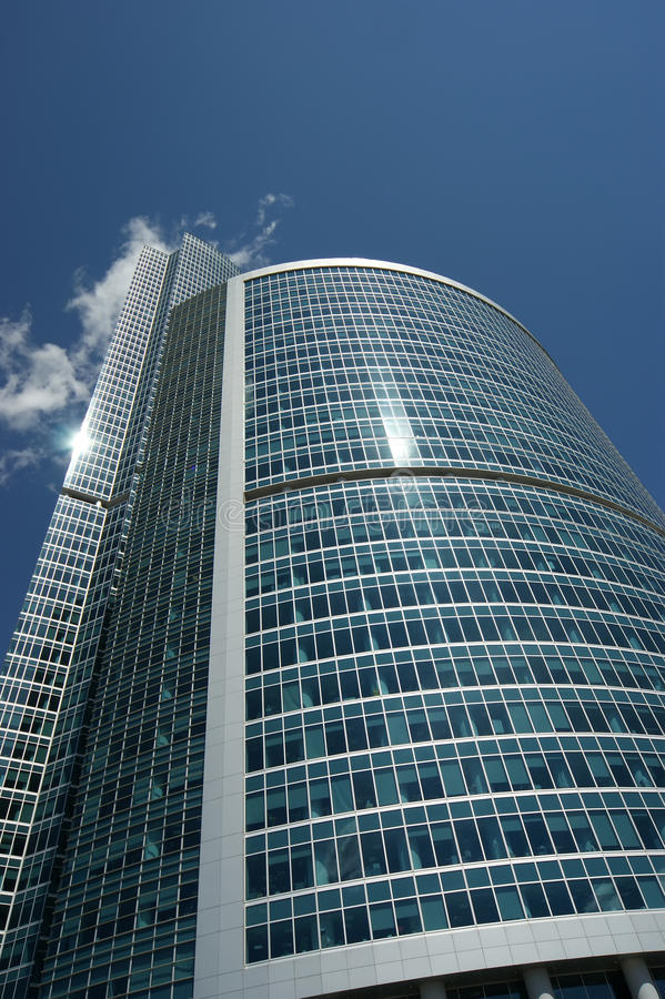Window Glass Facade Office Building Stock Photography