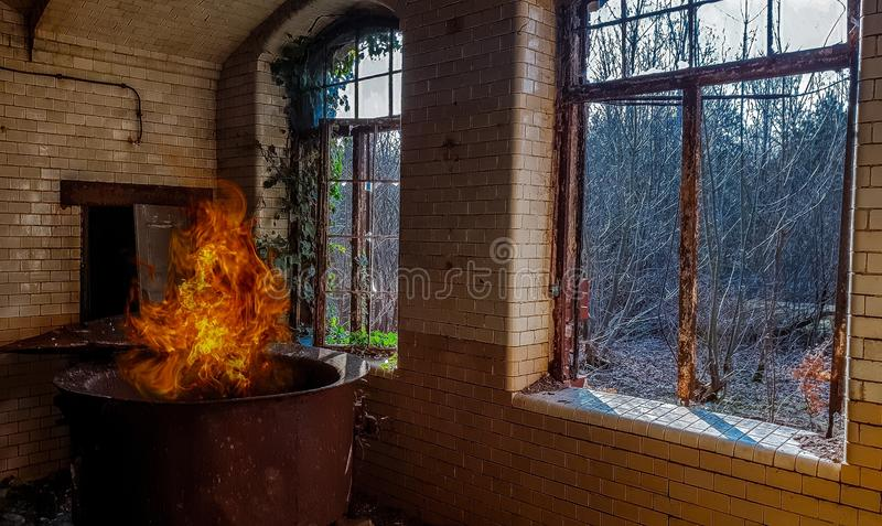 Window, Heat, Glass, Brick stock photo