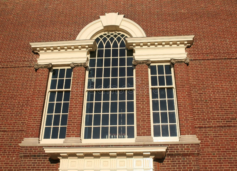 Window On A Historic Building Stock Image