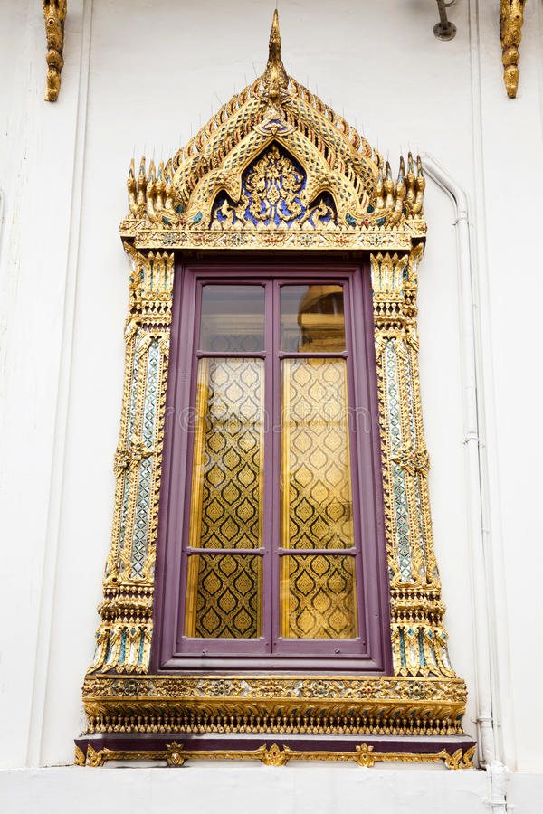 Window Of Hor Phra Nak Stock Photo