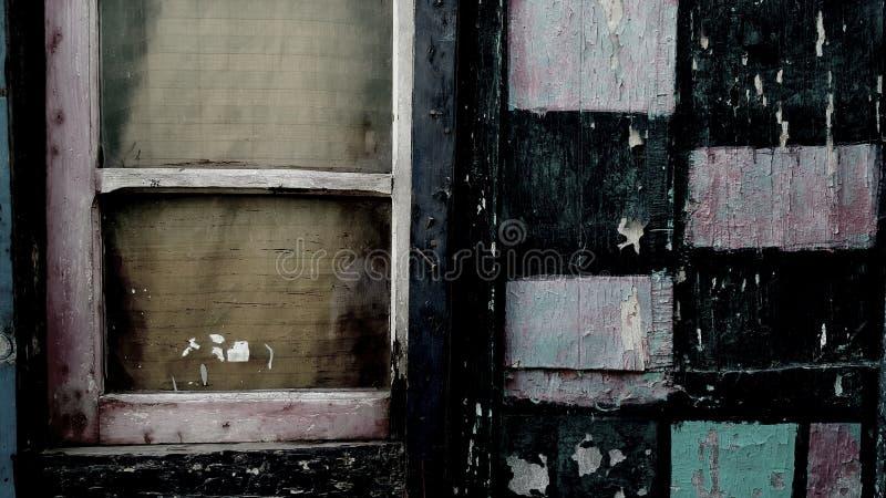 Window i saw somewhere stock photography
