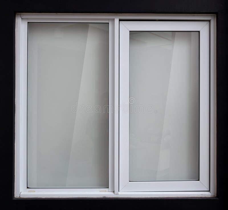 Window idea and concept, minimalis black and white. A portrait of a Window idea and concept, minimalis black and white stock photography