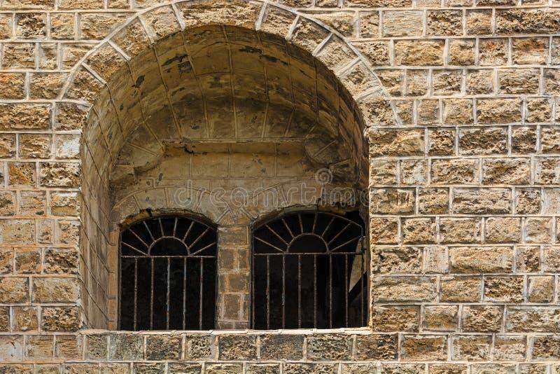 Window in Jaffa stock photos
