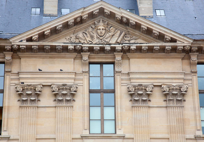 Download Window of Louvre museum stock photo. Image of french - 25659740