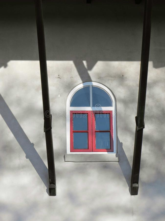 Window of the mill stock image