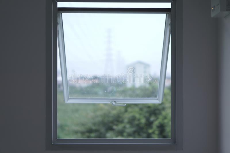 A window is not just the window. stock photos