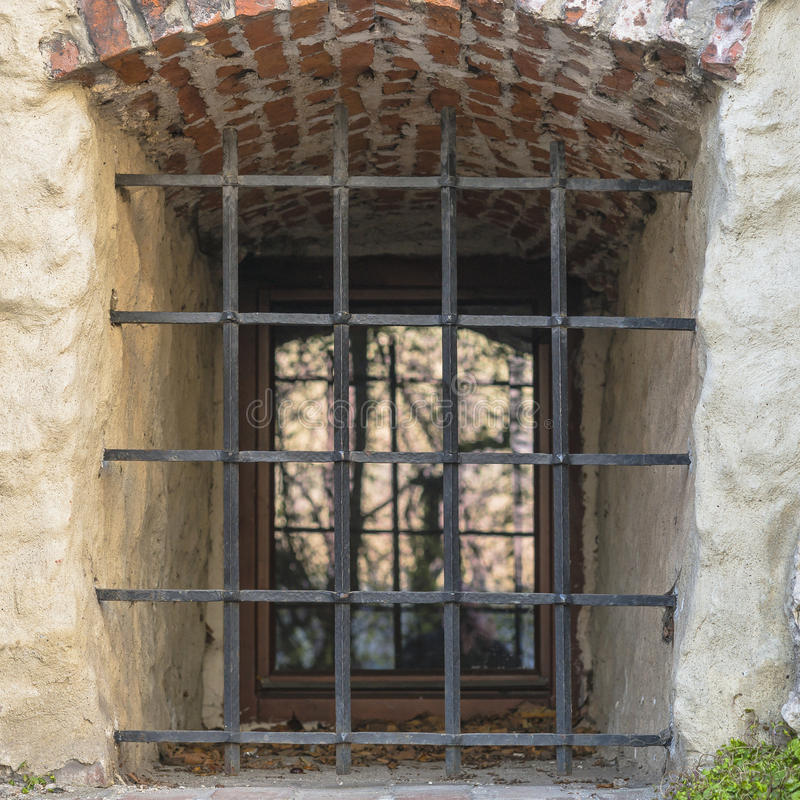 Window in old building stock image