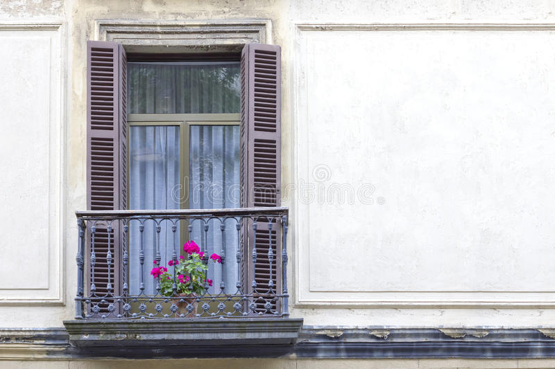window in a old building royalty free stock photos