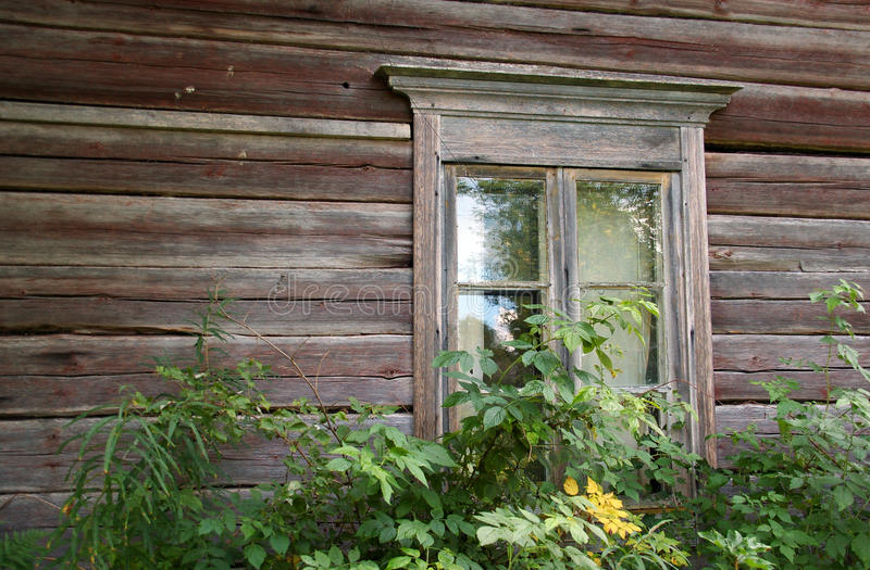 Window In An Old House Royalty Free Stock Photo