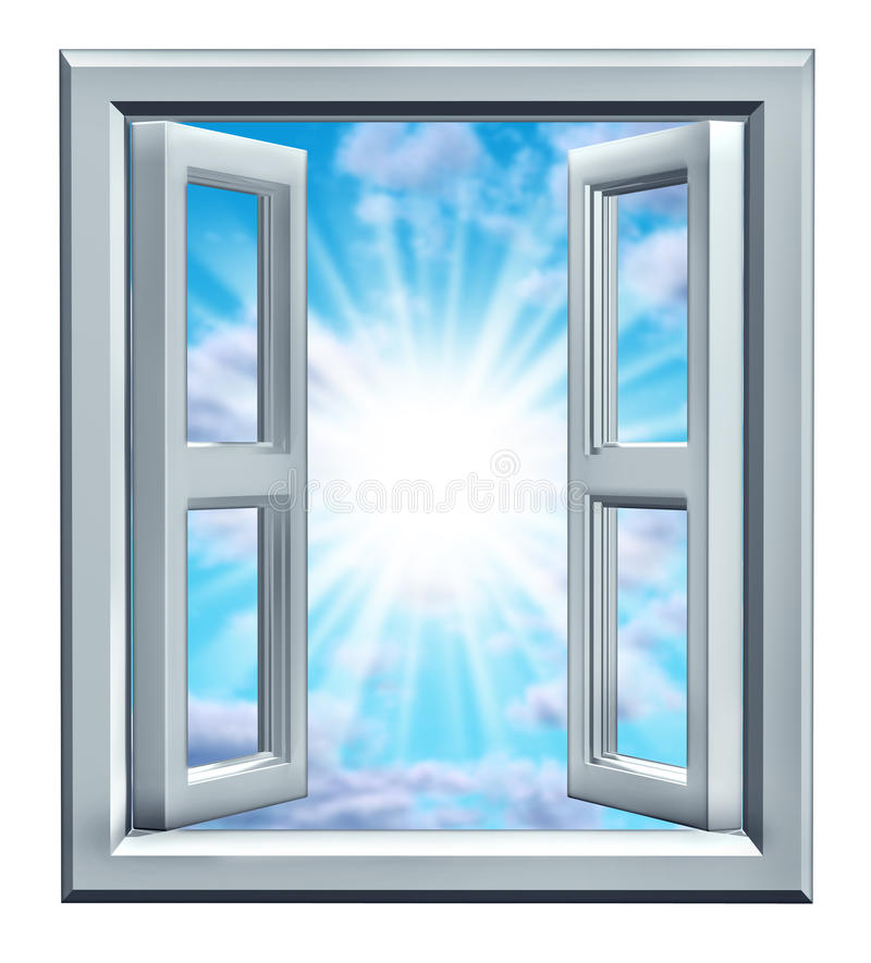 Window Of Opportunity Royalty Free Stock Image