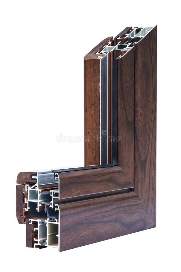 Window profile sistems stock photography