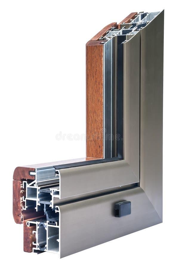 Window profile sistems stock images