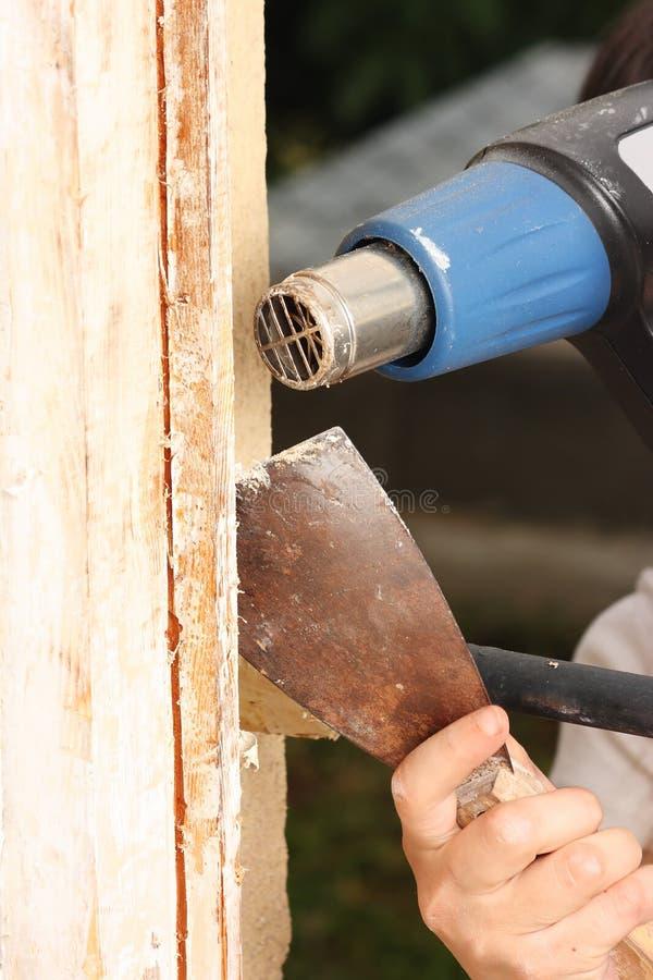 Window renovation stock images