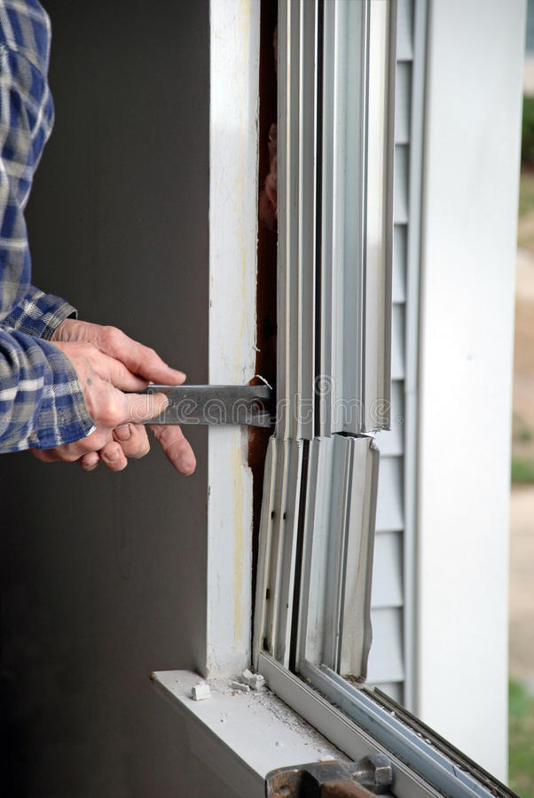 Window Replacement Royalty Free Stock Photos