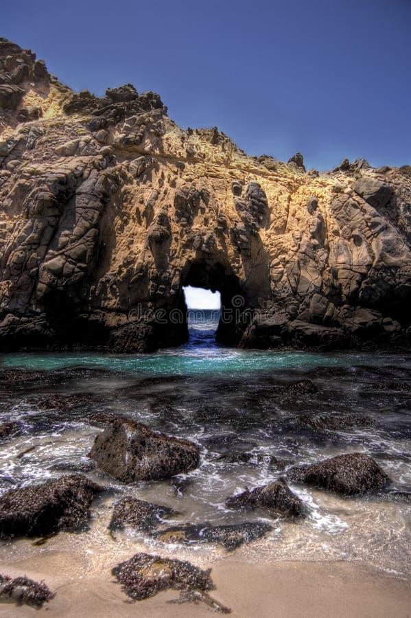 Download Window Rock stock photo. Image of hole, ocean, rock, blue - 18191926