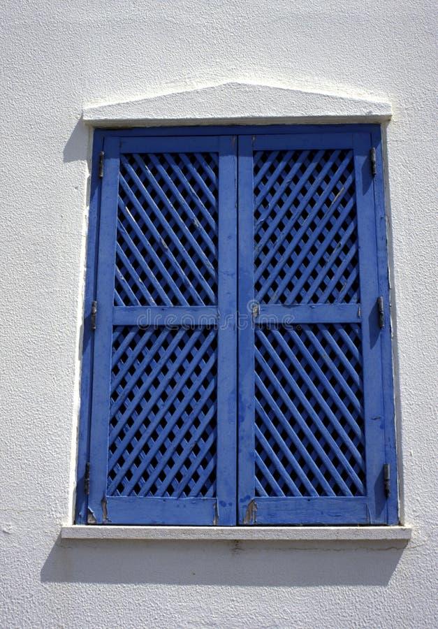 Window shutters stock photos