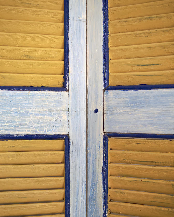 Window shutters closeup. Colorful background royalty free stock photos