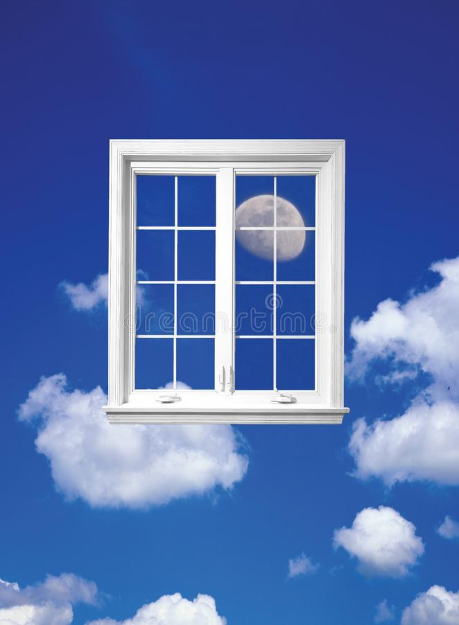 Download Window of sky stock image. Image of enter, illusion, future - 15300127