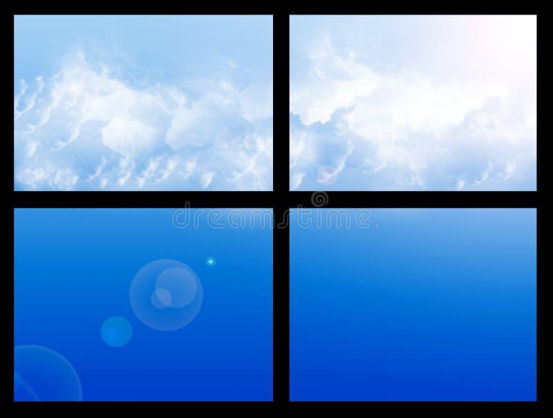 Window sky stock image