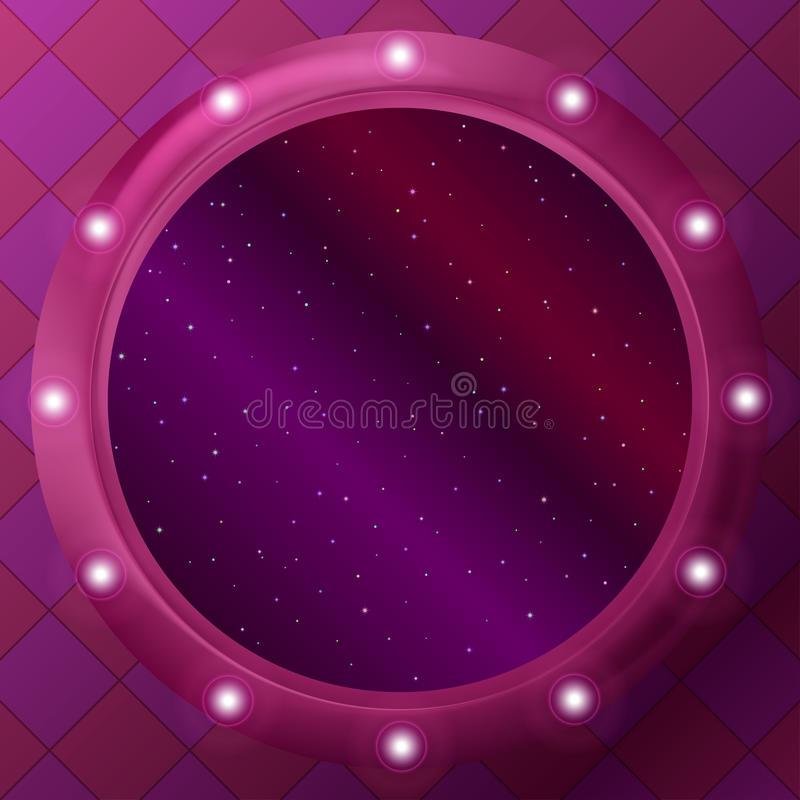 Download Window with stars stock vector. Image of color, bright - 22244187