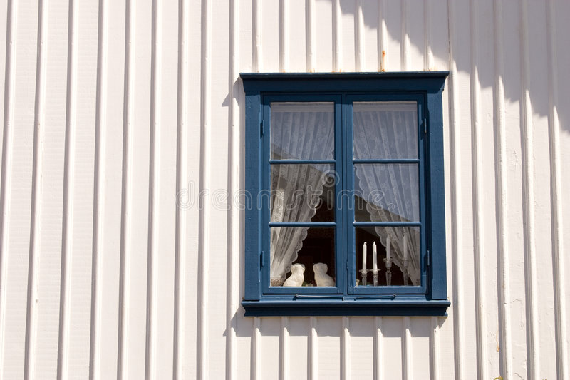 Download Window, Sweden stock photo. Image of village, white, stocken - 9001438