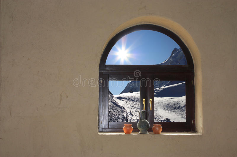 Download Window to another world stock photo. Image of cold, frame - 11780466