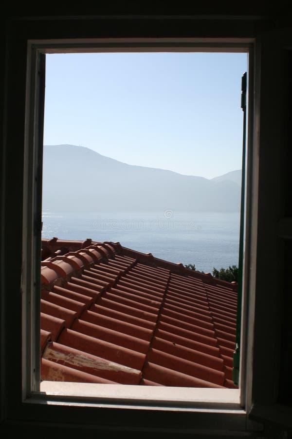 Window view stock photos