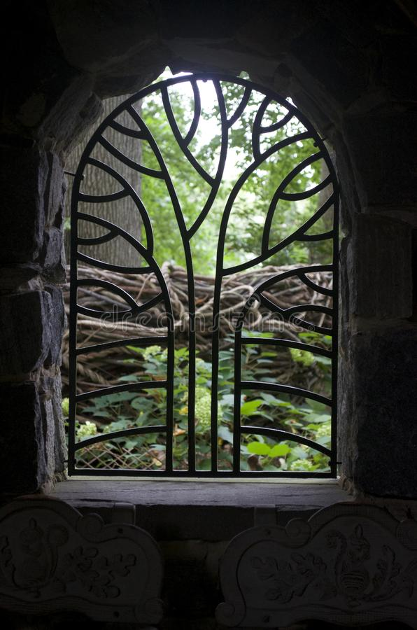 Through the Window stock photo
