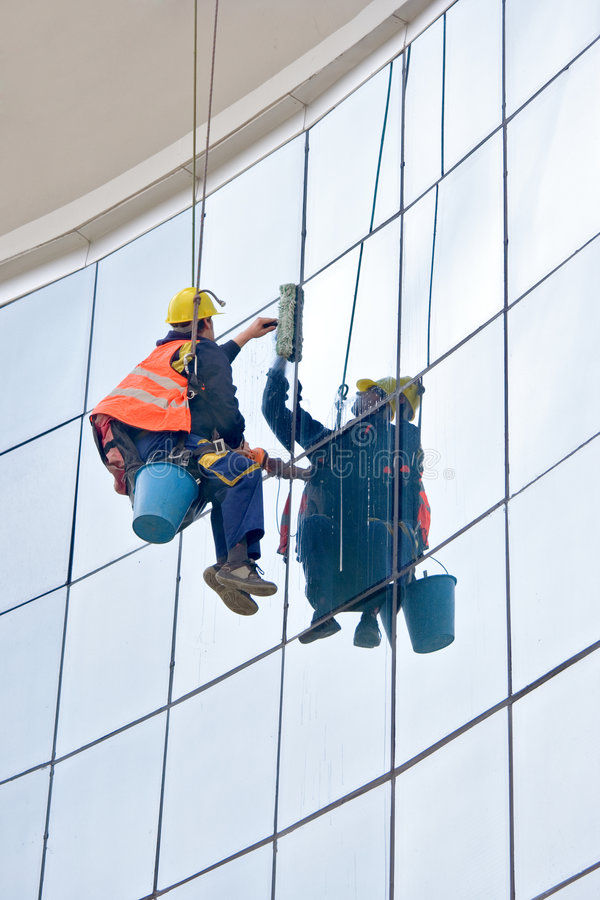 Download Window washer stock image. Image of cleaning, bucket, exterior - 2185377