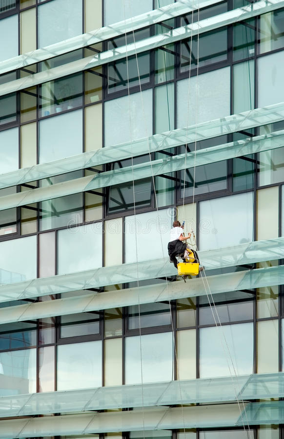 Download Window washer stock image. Image of glass, service, acrophobia - 21930615