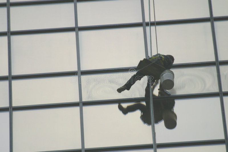 Download Window washer stock photo. Image of labors, buildings, labourer - 62414